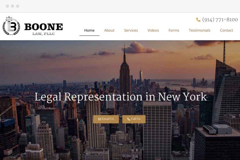 Boone Law screenshot