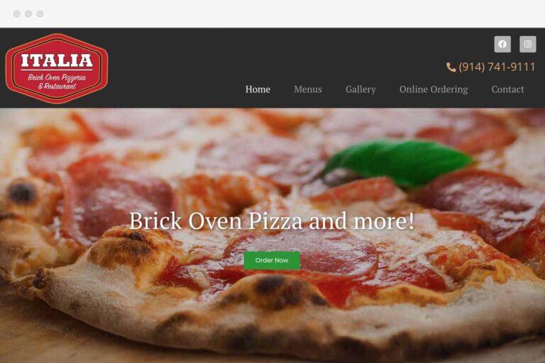 Italia Brick Oven Pizza screenshot